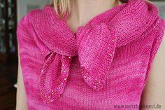 Upside Down Top - Shocking Pink Design: Daniela Johannsenova Material: Artyarns http://www.ravelry.com/projects/Maschenkunst/upside-down---shocking-pink