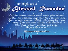 Best Ramadan Kareem Wishes, Messages and Ramadan Kareem SMS - Messages, Wordings and Gift Ideas