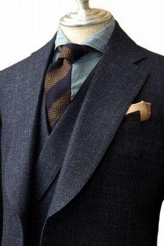 Mens Tailored Suits, Mens Suits, Sharp Dressed Man, Well Dressed Men, Suit Up, Bespoke Suit, Elegant Man, Savile Row, Summer Suits