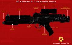 E 11 blaster rifle tech readout [2][New] by unusualsuspex.deviantart.com on @DeviantArt