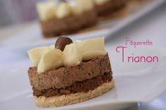 Octobre est le mois de mon anniversaire à moi, ouais!... et je suis à la recherche de mon dessert préféré. Lorsqu'une envie de trianon et de pâquerette de Soissons se mélangent, voilà ce que ça donne! (je suis loin de mon Maître es pâtisserie Sylvit AA...