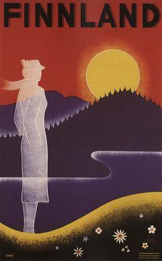 VINTAGE ART DECO A4 GLOSSY PHOTO POSTER PRINT THE JOHN GALT LINE USA 1920s #2 Kunstplakate Kunst