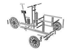 Build your own open source cargo bike (or buy it from XYZ Cycle). Go Kart TricicloCostruzione ... eb135e47bcfe9