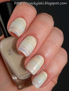 Wacky Laki: Sugar Spun Nails with the Zoya Spring 2013 Lovely Collection