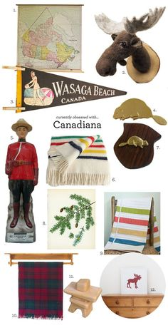 My grandpa was from Canada, so i guess that makes me Canadian, eh? canadiana / vintage finds on etsy<<<<< is this how people think us Canadians decorate? Canada Day Party, Hudson Bay Blanket, Lit Simple, Vintage Blanket, Bedroom Themes, Bedrooms, Reno, Cabins In The Woods, Boy Room