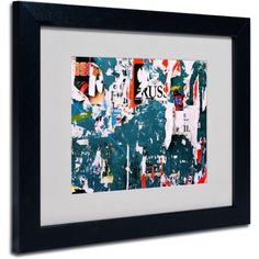Trademark Fine Art Yesterday's News Framed Canvas Art by Beata Czyzowska Young, Size: 16 x 20, Multicolor