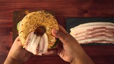 Yes it's just a bagel with bacon, lettuce, and tomato. But you should still watch because guess what? You've been doing it wrong the whole time... More food ...