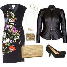 A fashion look from September 2014 featuring Roberto Cavalli dresses, AX Paris pumps and H&M clutches.