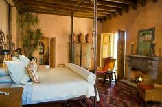 Typical Southwestern Bedroom