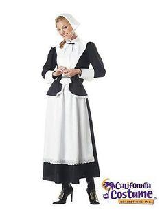 Thanksgiving Pilgrim Woman