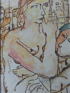 Abstrait Delvaux