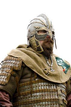 Lamellar Shoulder armor construction ideas