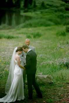 Romantic Aspen wedding at Maroon Bells via Chowden Photography