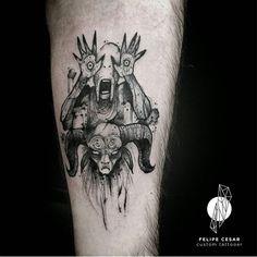 - pan's labyrinth.  Tatuagem do Márcio, muito obrigado, brother.  Agendamentos: contato@felipecesar.me
