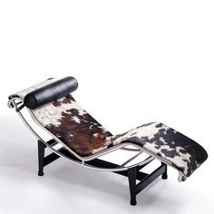 LC4 Chaise Longue, Le Corbusier. Designed 84 years ago, but still seems so modern.