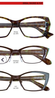 6f4e6bfa241 Quintessential Parisian chic with a twist of playfulness - One of the  highest quality eyeglass frames made - Exquisite attention to design and  details