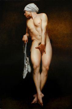 《白舞鞋》Lin Jinfu's Oil Paintngs