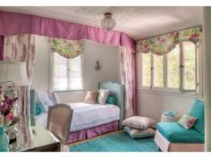 Pre-teen girl's room designed by Maya Williams. Photo by Everett Fenton Gidley.