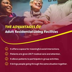 The Advantages of Adult Residential Living Facilities Group Activities, Medical Care