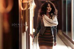 Actress Yoon Eun Hye poses for Joinus in earthy colors and fashion for the fall season. Princess Hours, Yoon Eun Hye, Asia Girl, Korean Actresses, Korean Actors, Dark Fashion, Korean Girl, Body, Dress Skirt