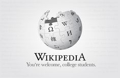 Wikipedia - seen on Logonews
