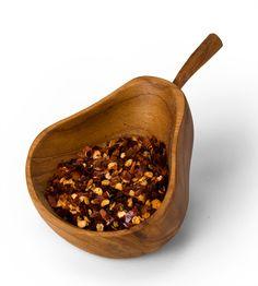 Cuenco de Pera de Madera / Wood Pear Bowl