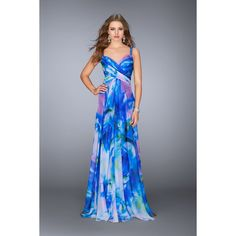 We Know you Love La Femme Dresses as Much as We Do! Find the Perfect La Femme Prom or Homecoming Dress of Your Dreams Today at Peaches Boutique Floral Chiffon Dress, Print Chiffon, Chiffon Gown, Chiffon Fabric, Evening Dresses, Prom Dresses, Summer Dresses, Formal Dresses, Long Dresses