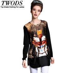 Printed 5xl o-neck sweater shirts casual long moleton feminino Like and Share if you agree! http://www.artifashion.net/product/printed-5xl-o-neck-sweater-shirts-casual-long-moleton-feminino/ #shop #beauty #Woman's fashion #Products