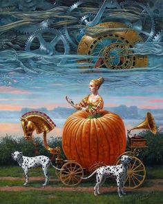 Por Amor al Arte: Arte mágico e imposible de Michael Cheval.