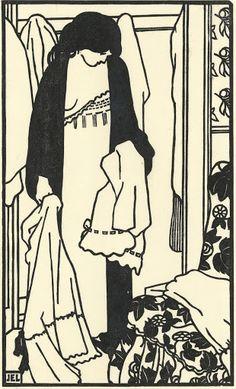 The Laundry (Le linge), 1907, Jean-Emile Laboureur, Van Gogh Museum, Amsterdam