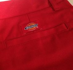 Dickies Red Shorts Size 9