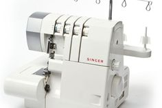 Cómo regular el largo y el ancho de la costura en un remalladora/overlock Singer básica