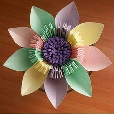 9 petals origami