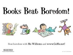 Mo Willems- good little kid games on this site