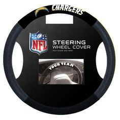 San Diego Chargers NFL Poly-Suede Steering Wheel Cover