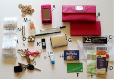 What's In My Purse? »Flamingo Toes