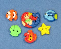 Mermaid and Sea Critter Collection