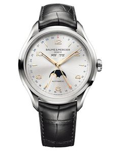 Five Baume & Mercier Watches Under $5,000 | WatchTime - USA's No.1 Watch Magazine-(Clifton Moon Phase 10055)