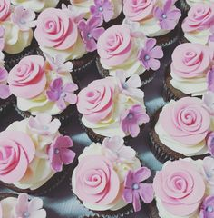 Cupcakes flores