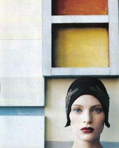 Vogue Italia Oct. 1996 - Neo Structure by Steven Meisel #OnceUponaRainbow