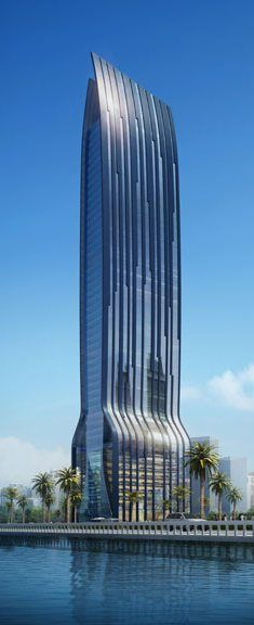 OSA Sons Tower, Jeddah, Saudi Arabia by Dewan Architects :: 51 floors