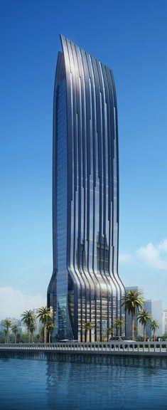 OSA Sons Tower, Jeddah, Saudi Arabia by Dewan Architects :: 51 floors