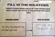 Get Up And Deal With It | 19 Kids Tests Answers That Will Make You Laugh
