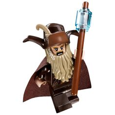 LEGO Radagast the Brown minifigure w/ staff -The Hobbit Lord of the Rings -NEW-