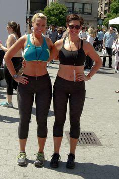Olivia Ward and Hannah Curlee