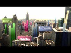 After Effects Template Flipchart City