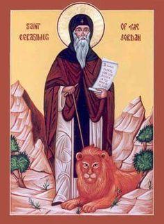 St.Gerasimus of the Jordan
