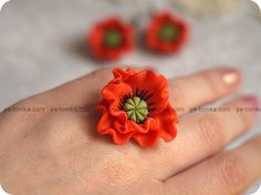 I just thought of my own little way of making flower rings and I'm sure its been thought of before, Buy plain plastis little flowers from the store and get some wire and floral tape and glue the little flowers on the wires. etc.