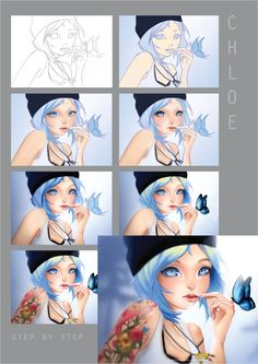 Chloe step by step by HannakiDesign
