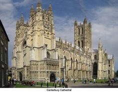 The magnificent Canterbury Cathedral, Canterbury, England
